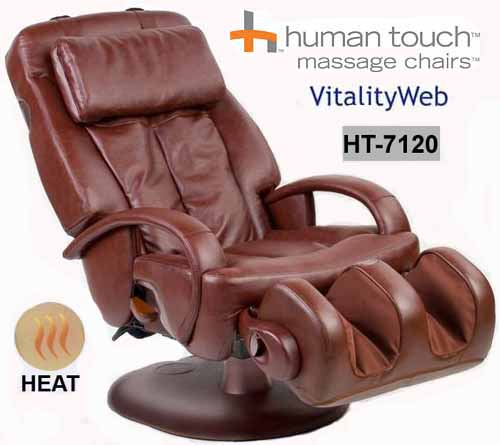 Human Touch Thermostretch Power Electric Massage Chair Recliner