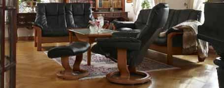 Stressless Buckingham High Back Leather Sofa Ergonomic Couch By Ekornes