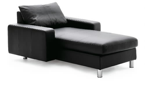 Stressless E200 LongSeat Leather Sofa Ergonomic Sectional Couch With  Matching Cushions By Ekornes