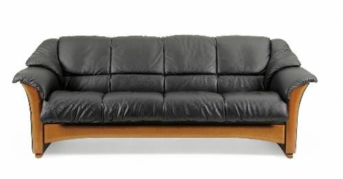 Ekornes Oslo Leather Ergonomic Sofa Couch Loveseat And